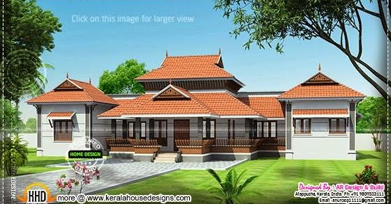 Kerala style ettukettu house home kerala plans for Veedu plans kerala