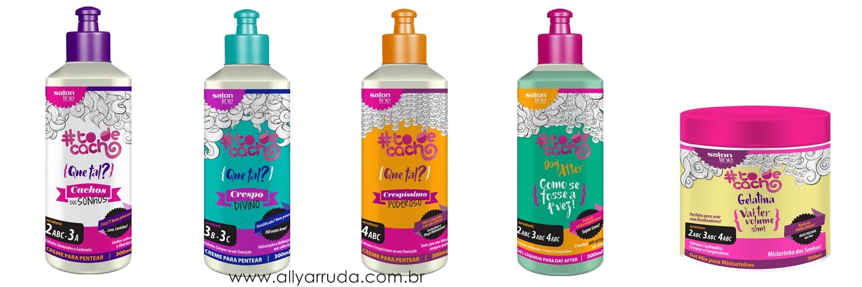 linha #todecacho - Salon Line - Tô de cacho | Blog Ally Arruda