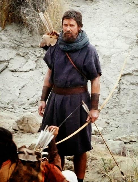 """Christian Bale se deja ver como el Moises de """"Éxodus"""" en Almeria"""
