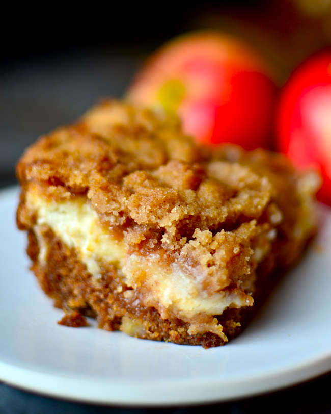 Apple Coffee Cake Using Cake Mix