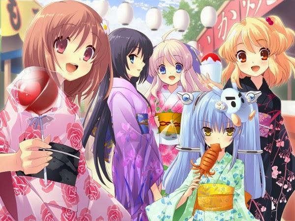 Langsung Saja Mastahh Ini Dia Wallpaper Anime Super Kawaii