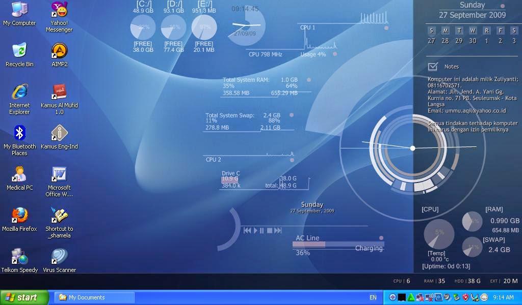 6 Software Mempercantik Desktop Komputer