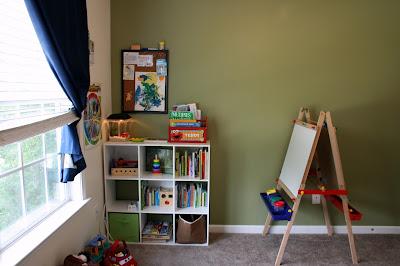 Homeschool room prek montessori