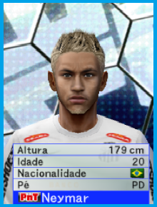 Prévia Da Face e Hair Do Neymar Do Patch Libertadores V5