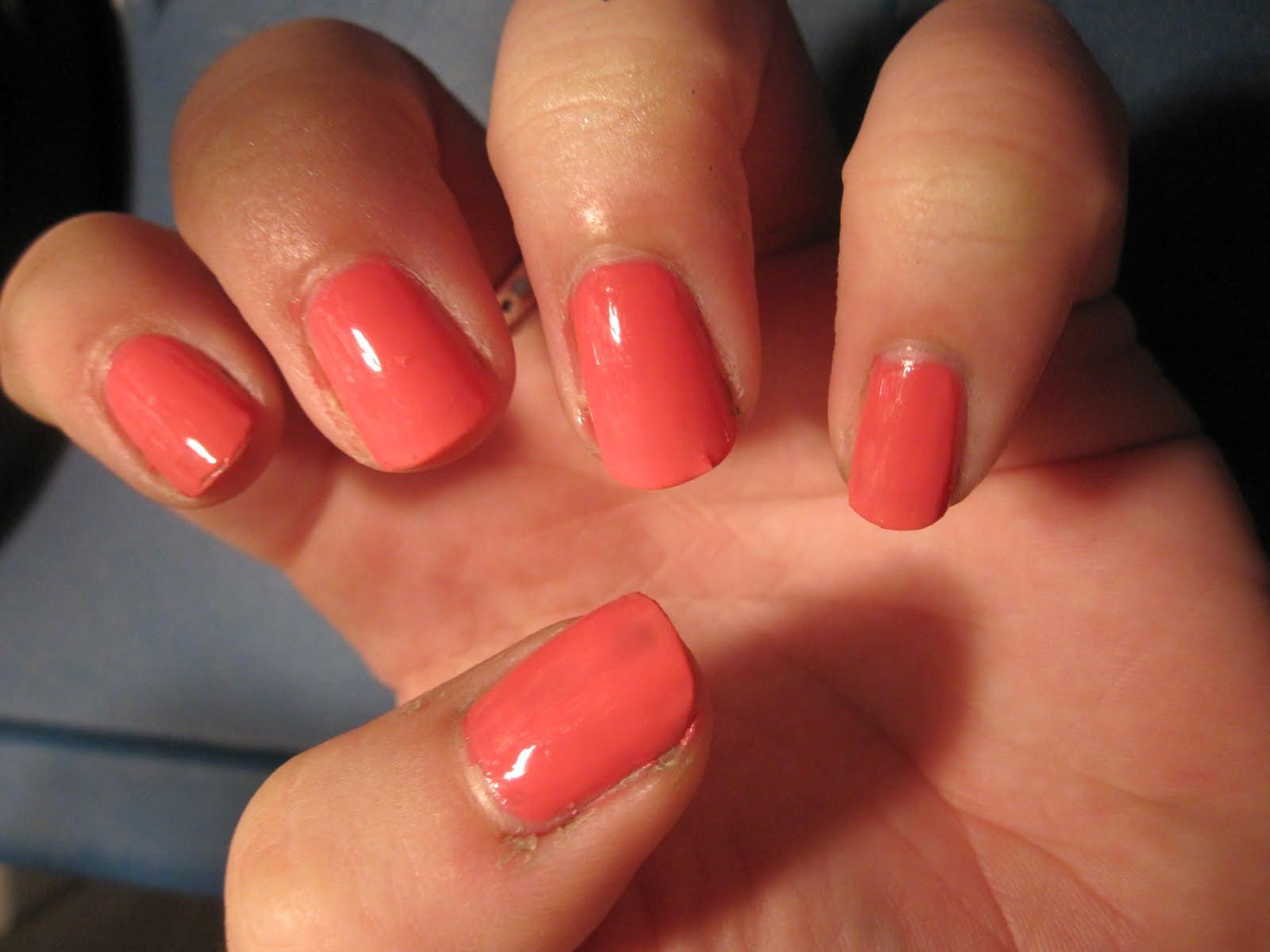 Big Apple Red Nails: Shrimply Devine