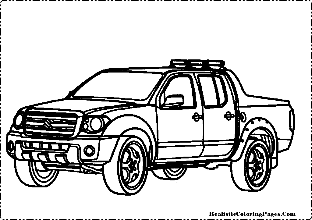 Realistic Car Coloring Pages : Lowrider coloring page of cadillac car pictures