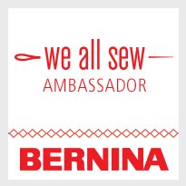I sew on a Bernina