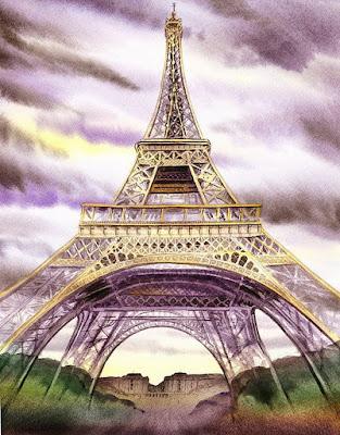 acuarelas parisinas