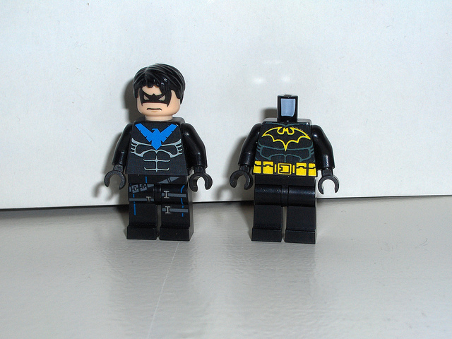 Nightwing Lego Batman 2 Minifigures