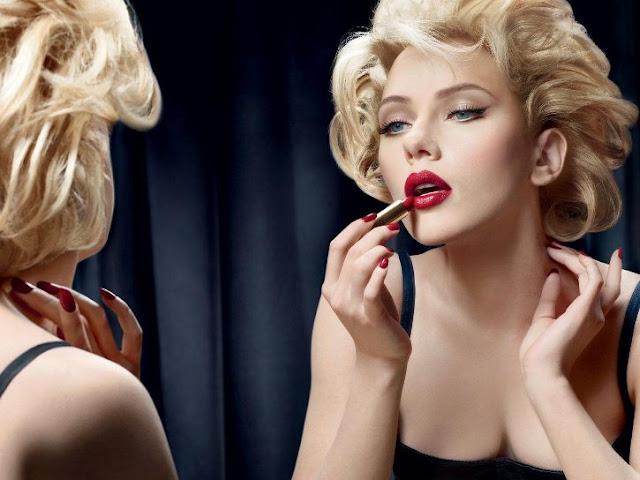 makeup, red lips, batom vermelho