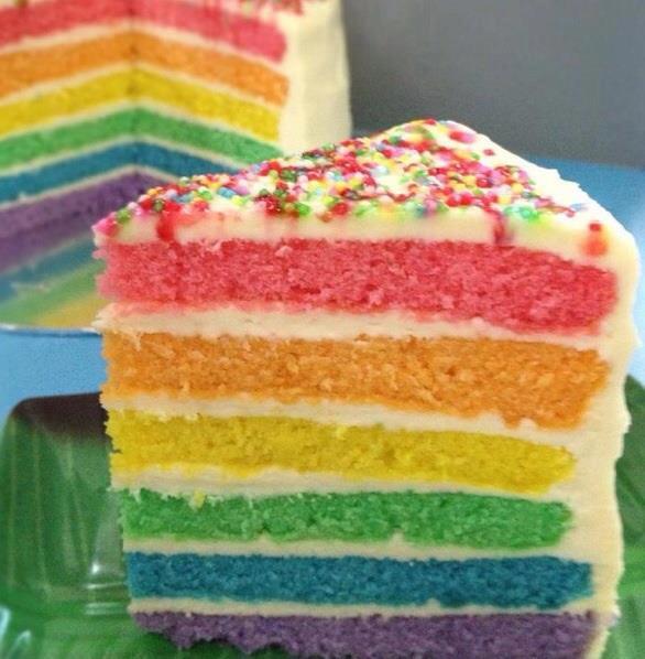 The Baking Biatch By Cynthia Lim Rainbow Cake With