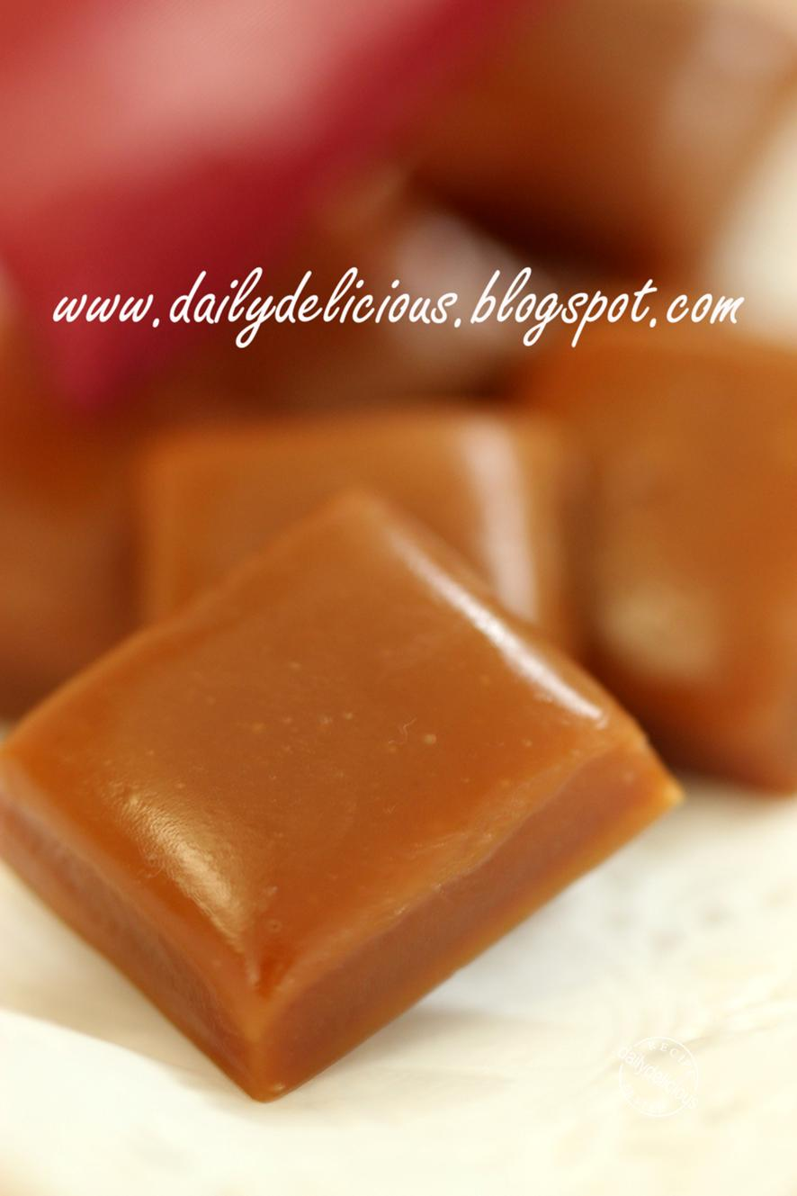 dailydelicious: Wild Flowers Honey Crème Fraîche Caramels: Learning ...