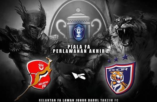 Live Streaming Piala FA Johor Darul Takzim Vs Kelantan 29 Jun 2013, JDT, Kelantan, Harga tiket Final FA, FAM Bangsat, Stadium Bukit Jalil,