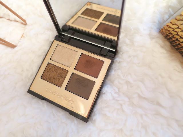 What I Got For Christmas Presents 2015 Charlotte Tilbury Dolce Vita Eye shadow Palette Make Up