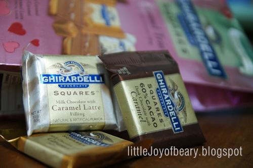 Ghirardelli Chocolate Squares Nutrition Facts