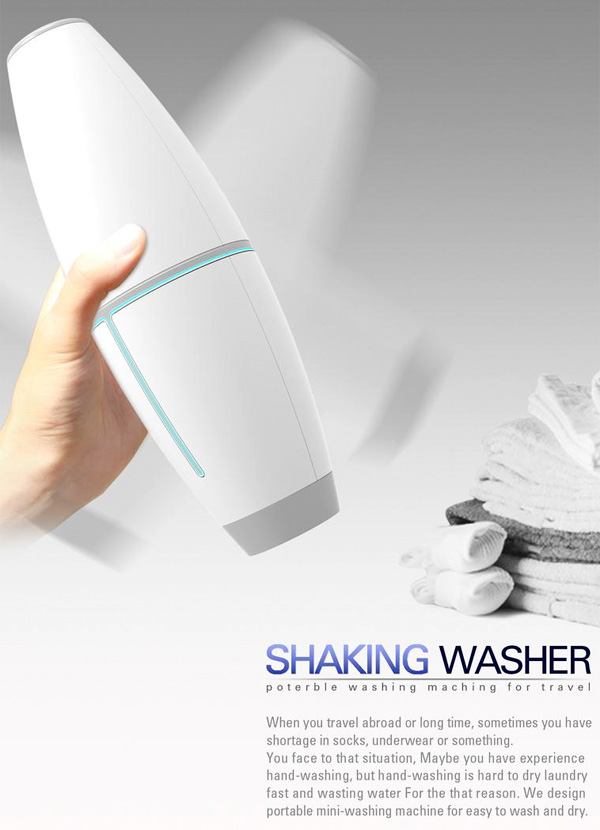 washing machine shaking