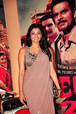 Glorious Kajal agarwal hot n sexy in saree