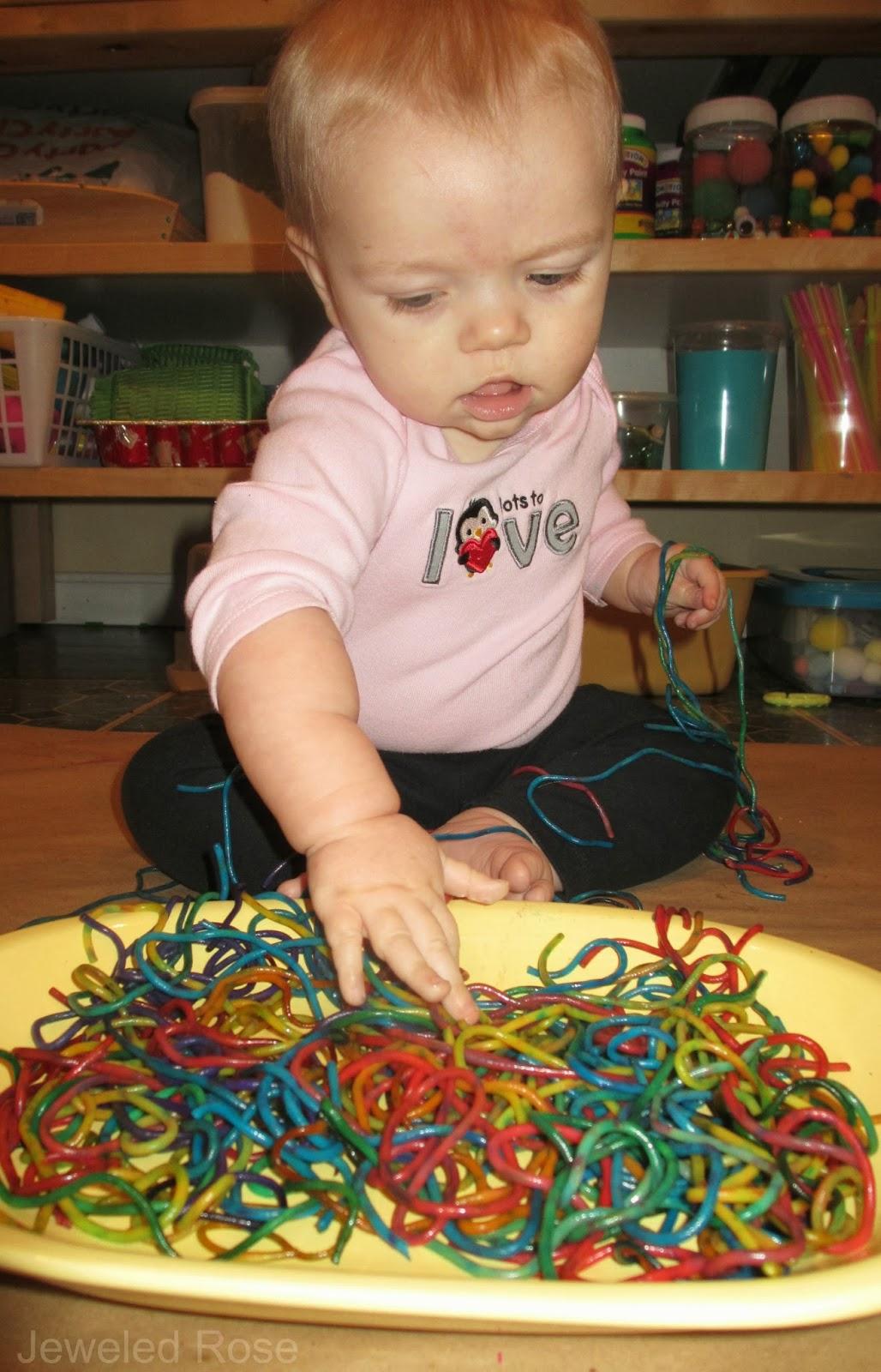 Safe sensory Play for Baby