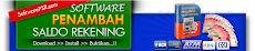 Software Penamabah Saldo Rekening