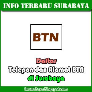 Telepon dan Alamat Kantor BTN di Surabaya