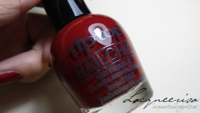 Tip Top Nail Chic Red Rendezvous
