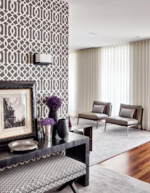 decoracao interiores revistas:Decoração de Interiores: Hall de Entrada decorado em tons castanho