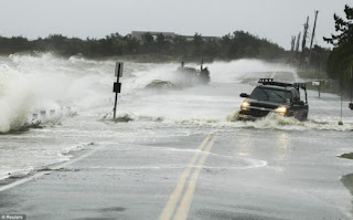 مقال شامل بالصور اعصار ساندي