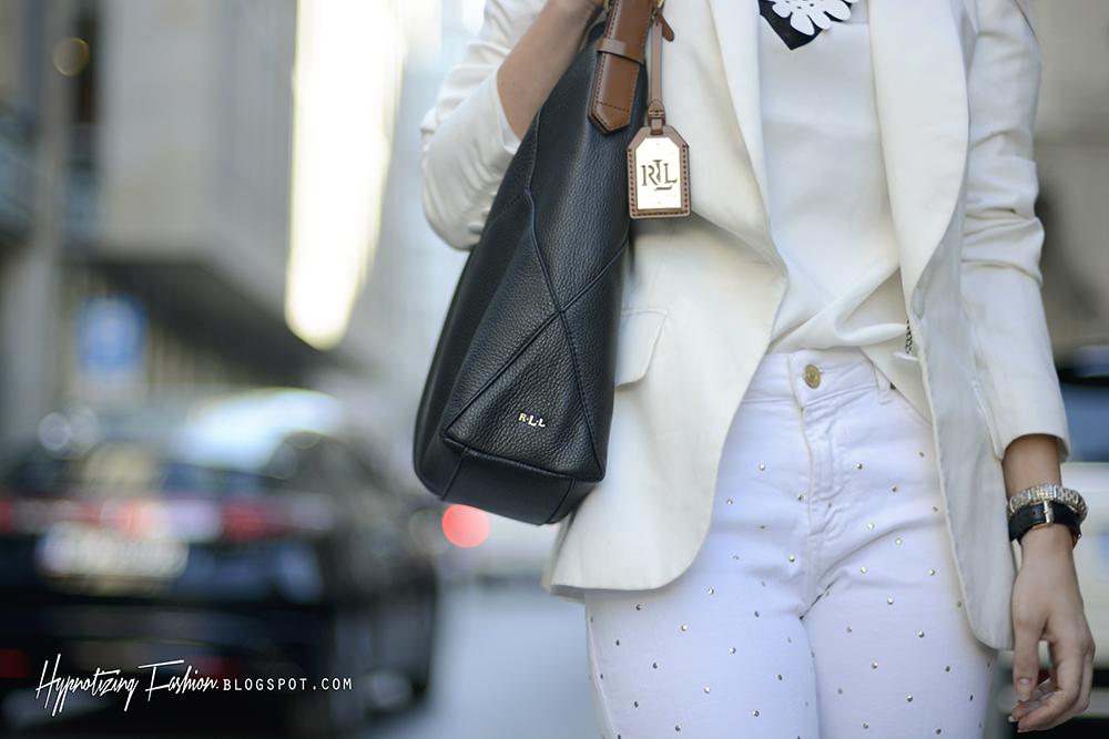 czarna torba ralph laurent outlet