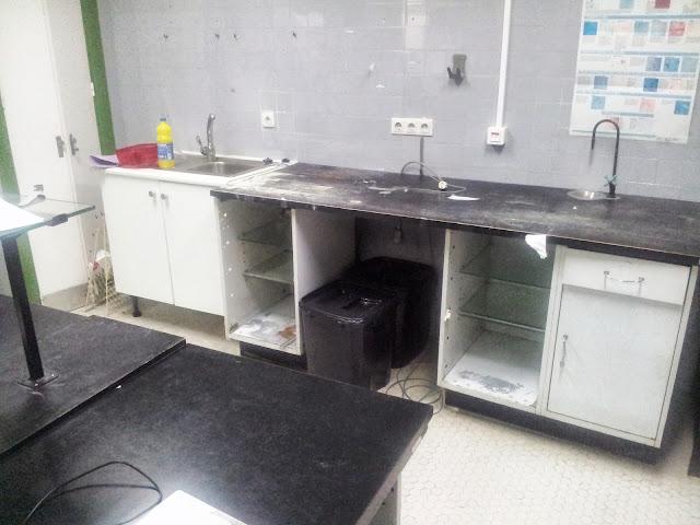 imagenes pertenecientes al laboratorio que el PP dice q no ha sido desmantelado
