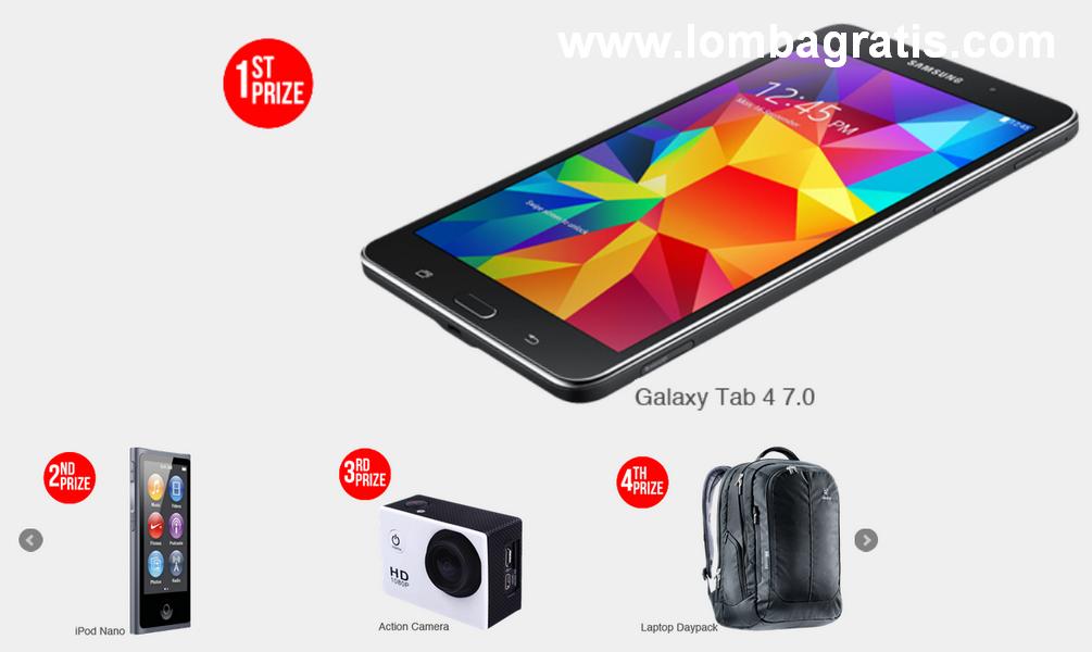 Vote dan Menangkan Hadiah SAMSUNG Galaxy Tab 4