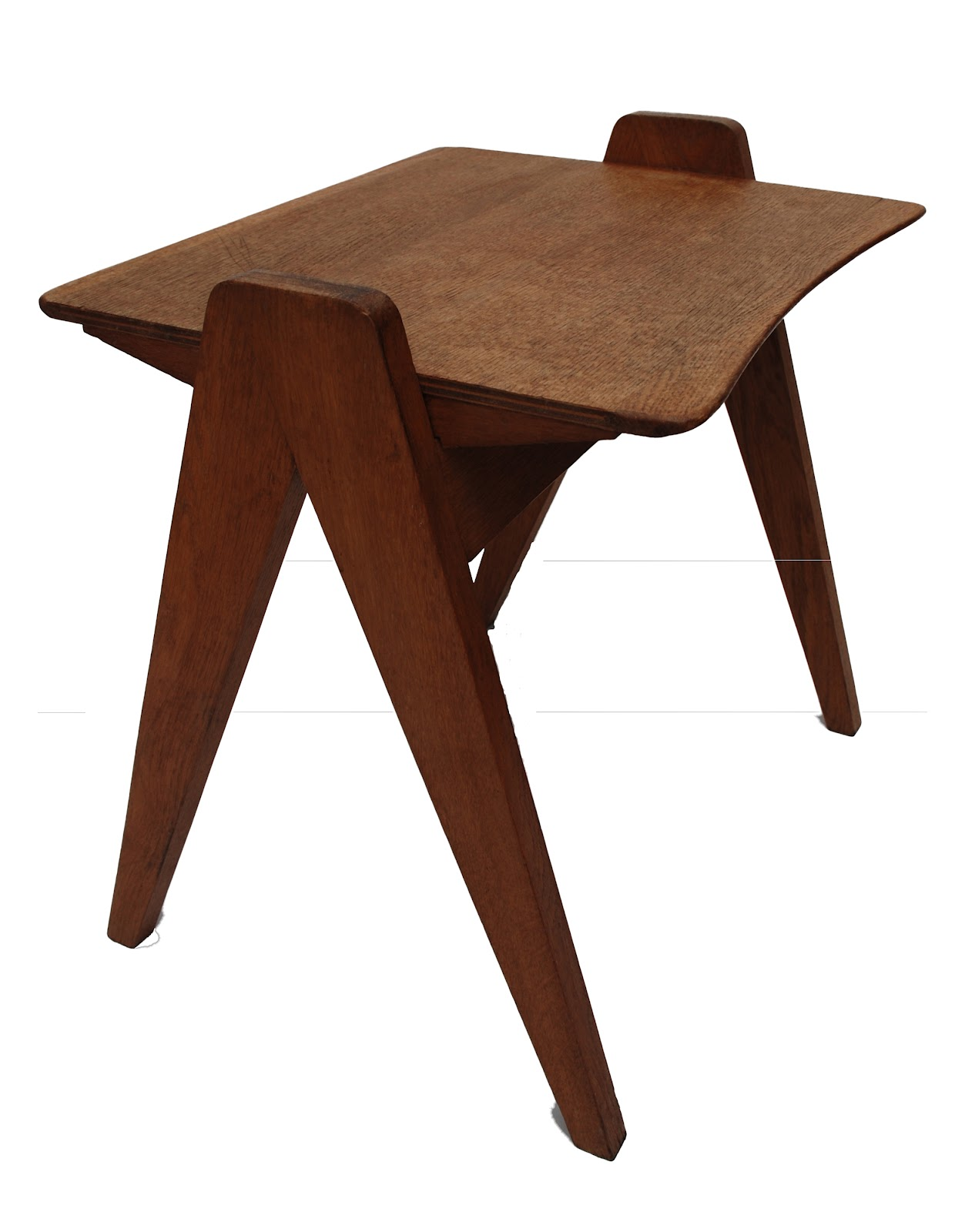 bo vintage table d 39 appoint pieds compas ann es 50. Black Bedroom Furniture Sets. Home Design Ideas