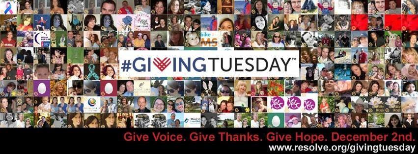 #GivingTuesdayResolve