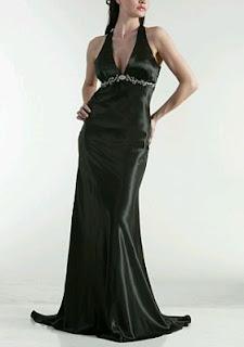 Vestidos de Fiesta Largos Color Negro, parte 1