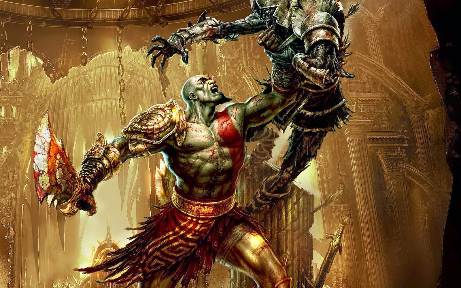 God of War Desktop Wallpaper