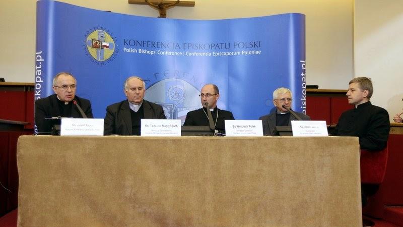 konferencja prasowa episkopatu o pedofilii