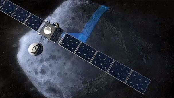 Зонд Розетта готовится к встрече с кометой Чурюмова-Герасименко