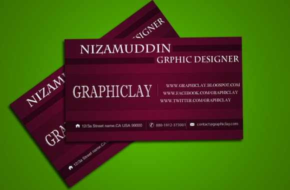 New stylish business card free psd file collections graphiclay they are used for demonstration purposes only the last card design discharge includes fully editable photoshop psd format reheart Image collections