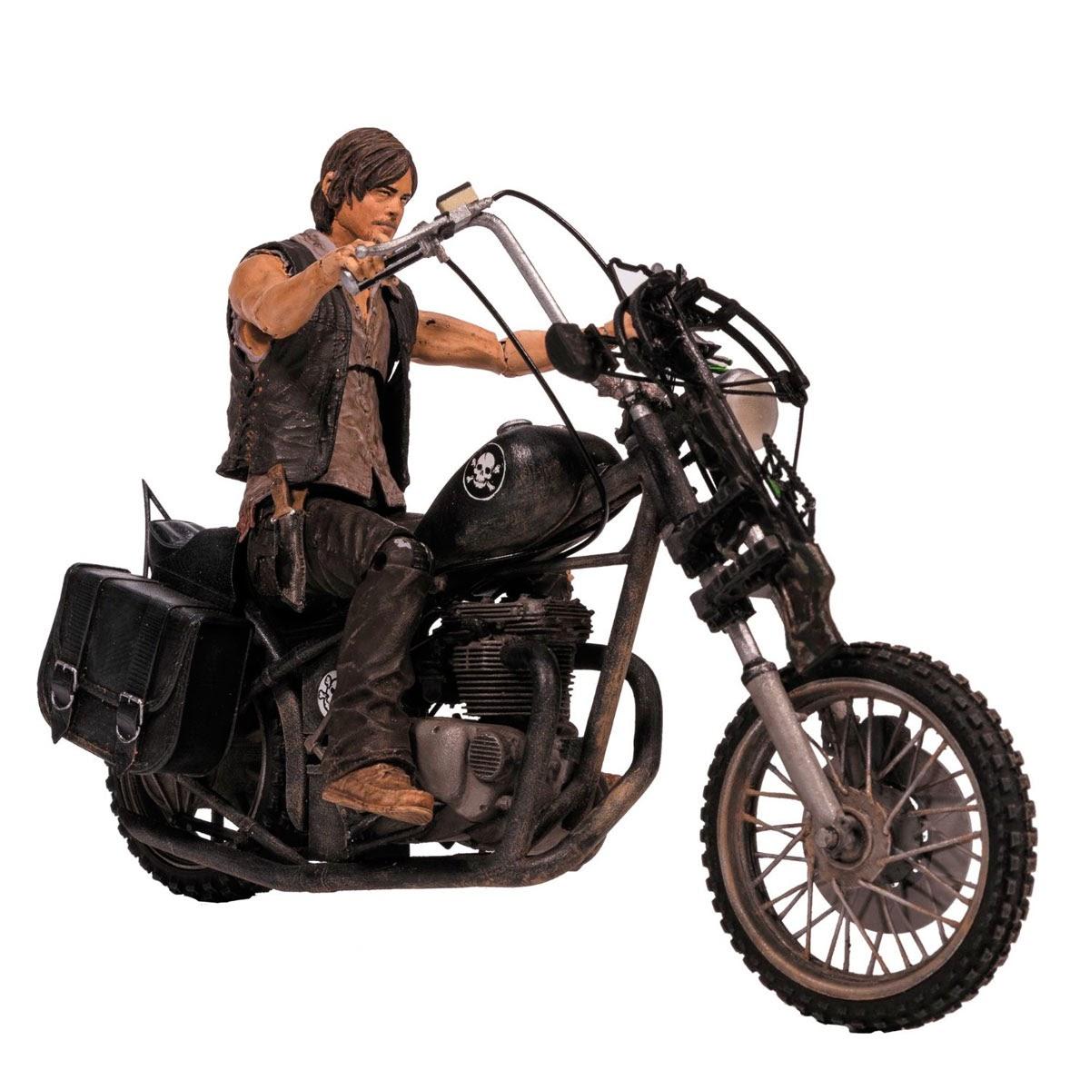 Daryl Dixon con Motocicleta Chopper