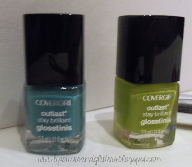 nail polishes, Covergirl, Glosstinis