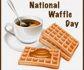 Smith and Blessings: National Waffle Day with Van's ...