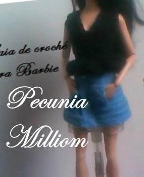 Barbie Saia por Pecunia MM