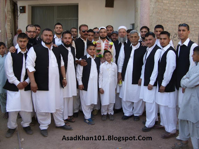 GROUP PHOTO ON ADIL'S WEDDING DAY