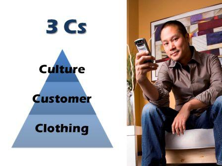 3 Cs - Zappos - Clothing, Customer, Culture