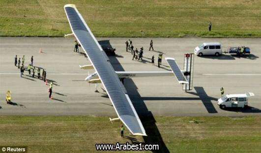 اختراع طائرة تحلق بالطاقة الشمسية