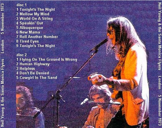 PLUMDUSTY'S PAGE: Neil Young 1973-11-05 Rainbow Theatre ...