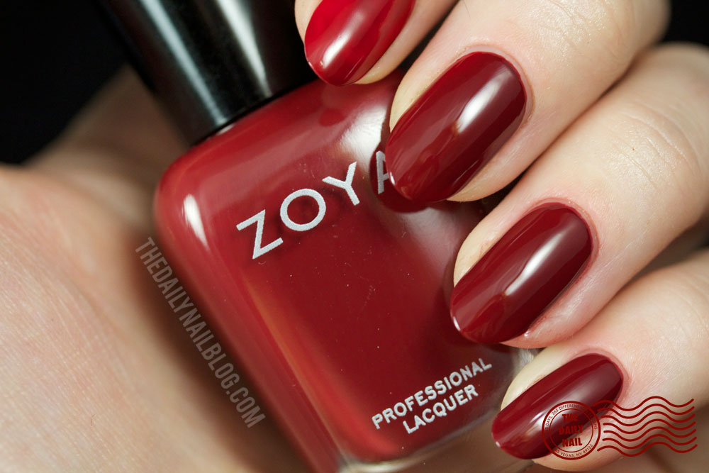 Zoya Cashmere Pepper Swatch Fall 2013 with bottle