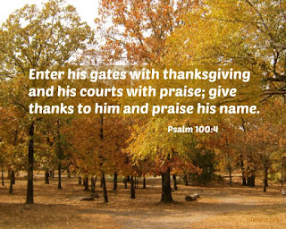 Thanksgiving 2015: Remembering to Whom We Give Thanks