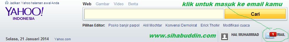 Cara Membuat Email Di Yahoo (YMail) BARU!!!