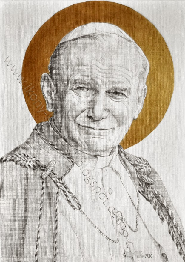 Ikony I Sztuka Sakralna święty Jan Paweł Ii