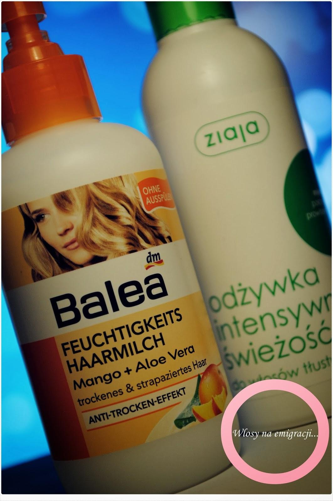Ziaja, Balea mango + aloes.